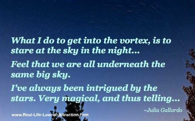 Get into the Vortex - Abraham Hicks Vortex - Starry Night