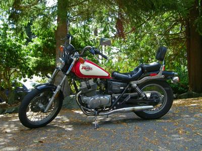 250cc Honda Rebel
